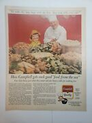 Lot Of 12 Vintage Campbell's Soup Print Ads Begin With The Best