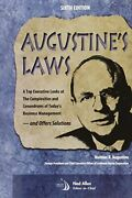 Augustine's Laws By Augustine, Norman R. Hardback Book The Fast Free Shipping