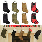 8 Pcs/lot Molle Christmas Stocking Tactical Military Magazine Pouch Storage Bags