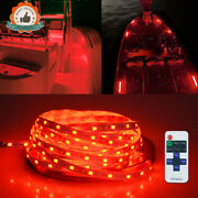 16ft For Boat / Truck / Car/ Suv / Rv Red Waterproof Led Decoration Light Strip