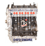 For Hyundai Kia I40 Sportage Engine D4fd 1.7 Diesel - Reconditioned Engine