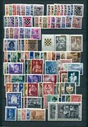 Ndh Croatia German Puppet State Complete Mnh Collection With Rare Sets See Scan