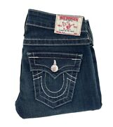 True Religion Brand Jeans Made In The Usa- Size 25 - Dark Blue