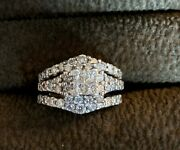 14k Gold Diamond Engagement Ring With Soldered Jacket Size 5andnbsp