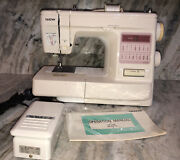 Brother Xl2015 Computerized Sewing Machine-tested Works Exce-rare Vintage-ship24