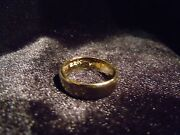 Usa Placer 22k Solid Gold Bullion Sz5-8 Ring By Joey Nicks Anarchy Jewelry Sp