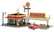 N Scale - Drive N' Dine - With Led Light - Factory Built- Woo-br4929
