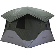 Gazelle T4 Extra Large 4 Person Family Instant Pop Up Camping Hub Tentopen Box