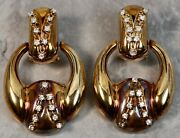 Victorian Reproduction 14k Rose Gold .50ctw Diamond Knuckle Drop Earrings