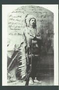 Ppc Buffalo Bill In Indian Costume Unposted