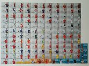 Panini Euro 2020 Adrenalyn Xl. All 136 Normal Size Limited Edition Cards