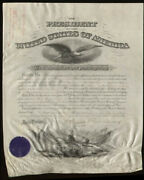 Grover Cleveland - Military Appointment Signed 07/10/1886 With Co-signers