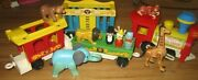 Vintage Fisher Price Little People Circus Train 991 Complete