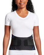 Tommie Copper Womenand039s Pro Grade Adjustable Fit Back Pain Support Brace Contoured