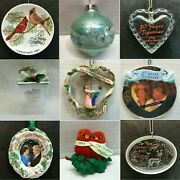 C104 Couple Ornaments Each Priced Separately Many Choices Together Love Forever