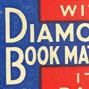 Scarce 1930and039s-40and039s Full Matchbook Diamond Matches A. Schulte Cigar Stores