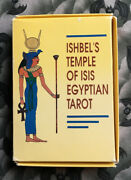 Ishbel's Temple Of Isis Egyptian Tarot 1989 - Rare Out Of Print Collector's Item