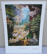 Print From Hallelujah Square Of Precious Moments By Sam Butcher11 X 15 3/4