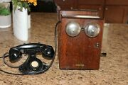 Western Electric 48a 5 Bar Magneto Telephone Ringer Crank Generator Works Clean
