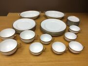 C. Ahrenfeldt Limoge France Depose Misc. Plates Coffee Cups And More 26 Pcs.