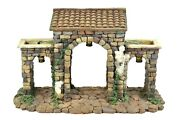 5 Inch Scale Town Gate By Fontanini For Heirloom Nativities By Roman 50215