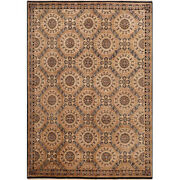 Handwoven European Villa Style Area Rug 6and0395andtimes9and0391