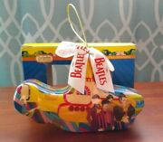 The Beatles Yellow Submarine Ornament New In Box