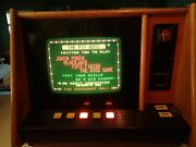 1983 Merit Industries Pit Boss Video Game In Good Working Condition Local Pickup