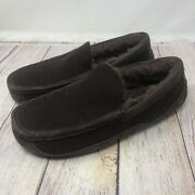 New Uggs Men's Ascot Slippers 100 Pure Wool Size 7 Brown