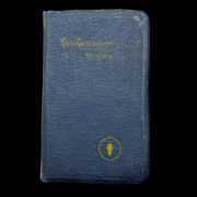 Wwii 1941 Navy Edition Bible Named To Ensign William Gay Battle Of Saipan Vet