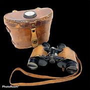 Wwii Named Co L.172nd Infantry 43 Division - U.s. Army Signal Corps Binoculars