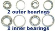 4 Front Wheel Bearings For Dodge 1949 1950 1951 1952-54 -replace Old