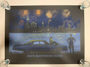 Dave Matthews Band Poster - Northerly Island - Chicago, Il - July 4, 2014