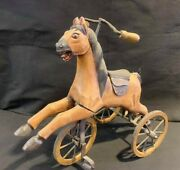 813-antique American Hand Made Toy