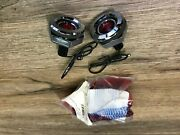 1968 Dodge Plymouth B Body New Reproduction Rear Side Marker Lights Flat P-w