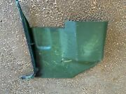 1970-1974 E Body Cuda Kick Panel Challenger Barracuda Green Side Right Mopar