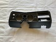 Chevelle El Camino 1969 Dash Bezel Tach And Gauge Cluster Ss 396 Housing