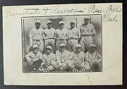 Early 20th Century Asian And American Integrated Baseball Team Real Photo 4x6
