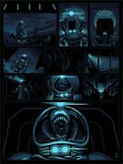 Aliens Unknown Creature Limited Giclee Print Art Poster 50 18 X 24