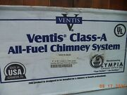 Ventis Class-a Va316-0636 Stainless Steel All-fuel Chimney Section Brand New