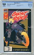 Ghost Rider 1 Cbcs 9.8 Nmmt White Pgs 5/90 1st App Danny Ketch As Ghost Ride