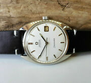 Vintage Omega Seamaster White Dial Date Auto Cal565 Manand039s Watch