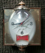 Budweiser King Of Beers-bubble Lighted Clock Bar Sign