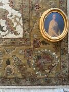 Ethan Allen Rug 8'x11' Mint Condition. Hand Knotted 100 Wool No Pets No Smoke.