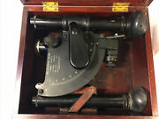 U.s. Navy Ball Recording Sextant Mark 1 Mod O - Sold As Is. Untested.