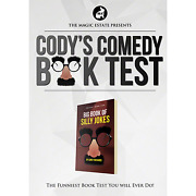 Cody's Comedy Book Test By Cody Fisher And The Magic Estate - Trick
