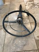 1965 1966 Chevy Impala Ss Floor Shift Steering Column And Wheel Caprice