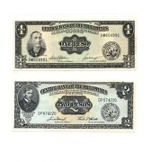 Philippines 1 2 5 10 And 20 Piso Nd 1949 5 Pcs Set Unc P133-137