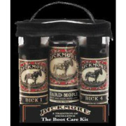 Bickmore Boot Care Kit - Bick 1 Bick 4 And Gard-more - Leather Lotion Cleaner And -
