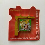 Wdw - Passholder - Puzzle 2006 - Epcot - Mickey Mouse Le 7000 Disney Pin 47091